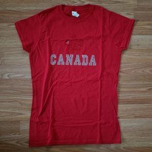 Canada Rhinestone Shirt